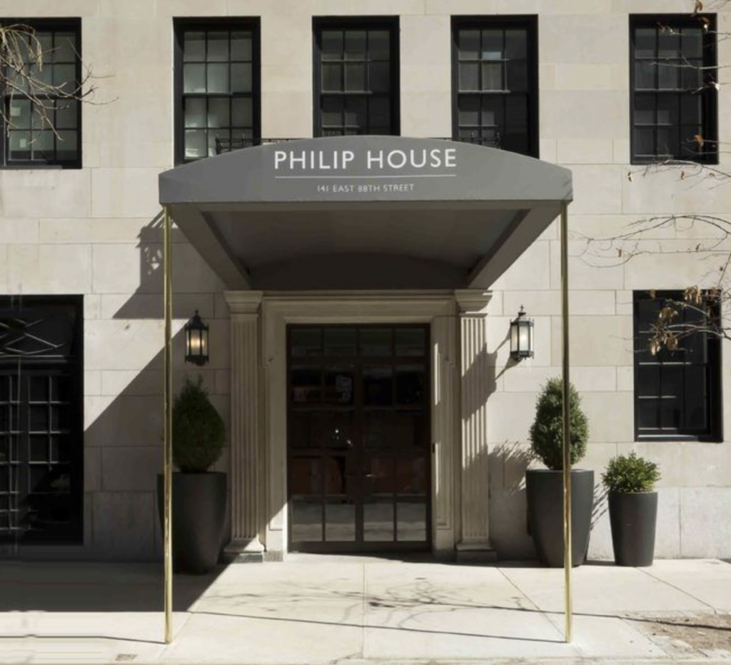 Philip House, 141 East 88th Street entrance